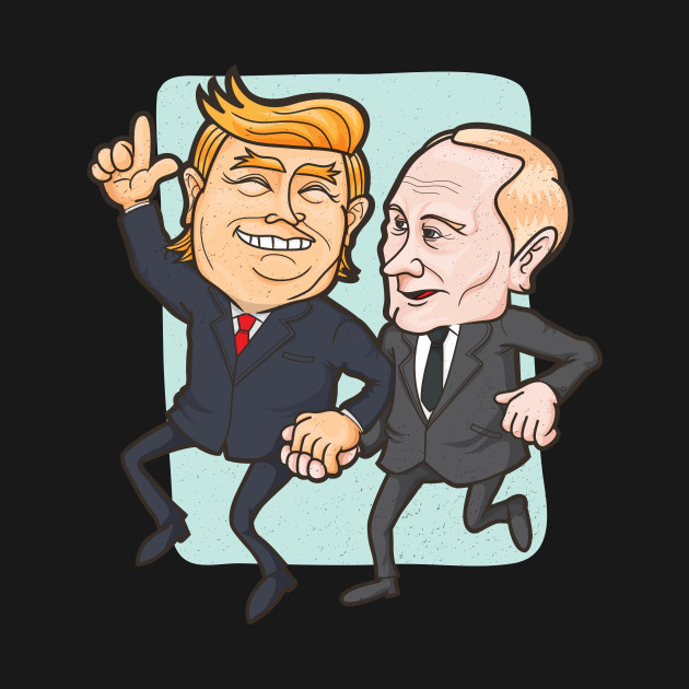 3a640796c ... Trump Putin Friends For Life Political Humor Republican Democracy