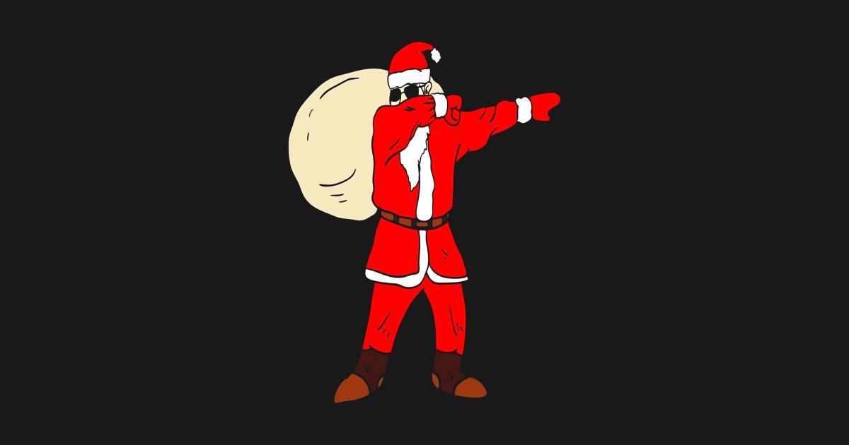 aec5098eb Dabbing Santa T-Shirt Funny Christmas Santa Claus Dab Shirt Pillow
