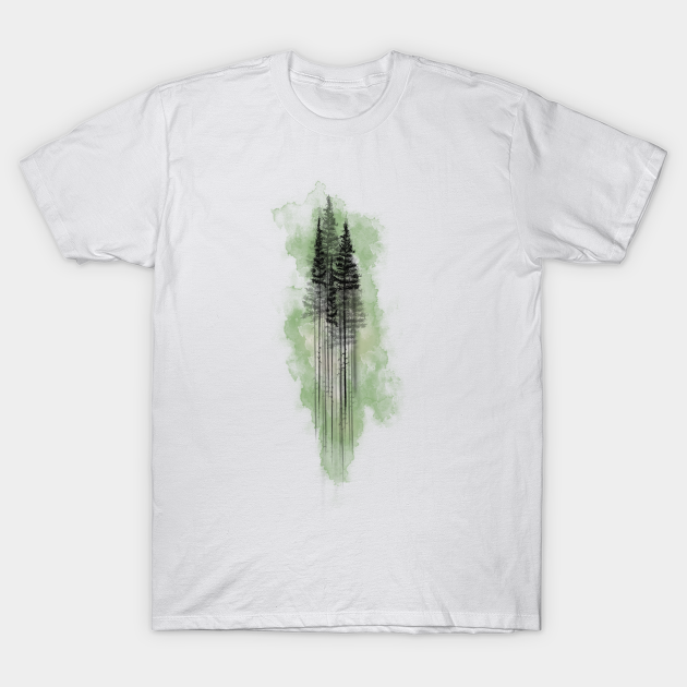 qr7uowa6d6jblm https www teepublic com t shirt 958447 watercolor pine tree forest green