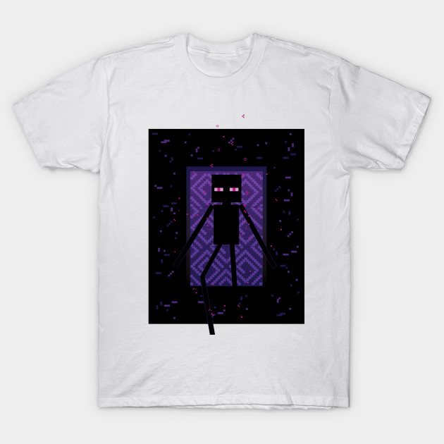 Here Comes the Enderman! T-Shirt-TOZ