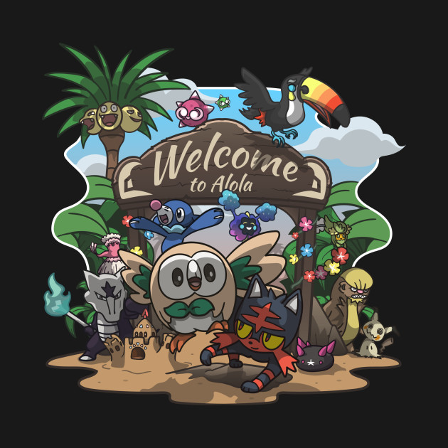 Welcome to Alola!