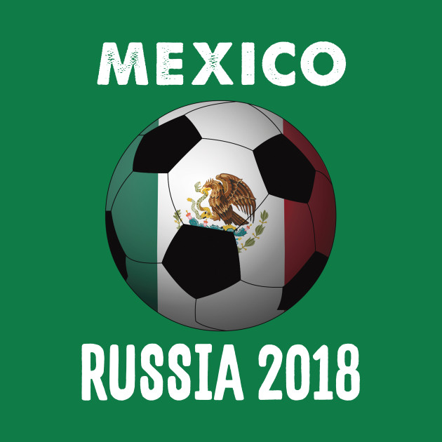 Mexico World Cup Football Soccer Russia 2018 Design