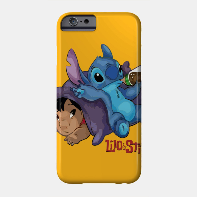 Stitch And Lilo Tired Phone Case