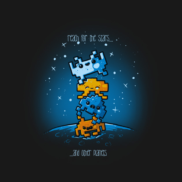 Cute Invaders T-Shirt