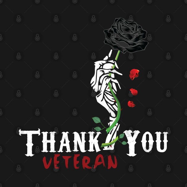 Thank you Veterans American Flag T-Shirts