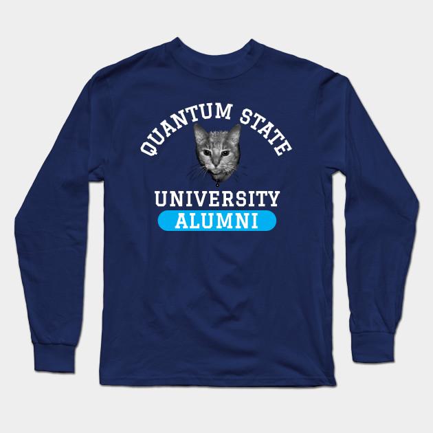 028fc057 Quantum State Alumni Schrodinger's Cat Funny Science - Wanted Dead ...