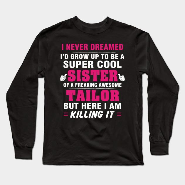 Sweatshirt Design LightRed Cool Tailor Tshirt