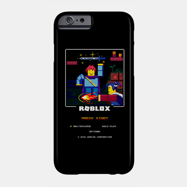 Blox Corp Roblox Funny Game Characters Retro Blox Roblox Coque Pour Telephones Teepublic Fr