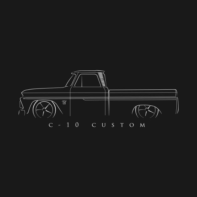 Chevrolet C-10 Fleetside Pickup - stencil