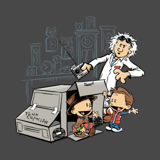Scientific Paradox Goes Boink t-shirts