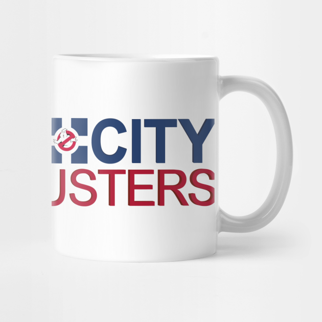 Circle City Ghostbusters Wordmark (Light Shirts)