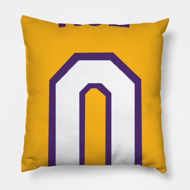 6e3f1192fce Kyle Kuzma  KUZ  Nickname Jersey - Los Angeles Lakers - Nba - Pillow ...