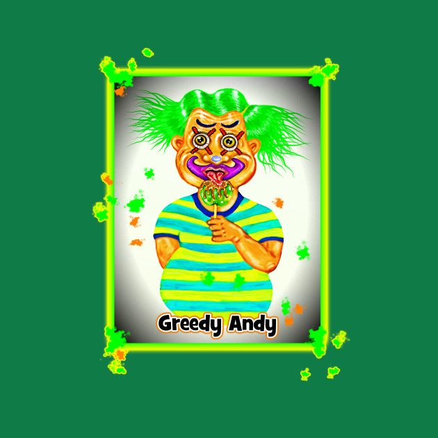 Bwilly Bwightt's Circus - Character - Greedy Andy