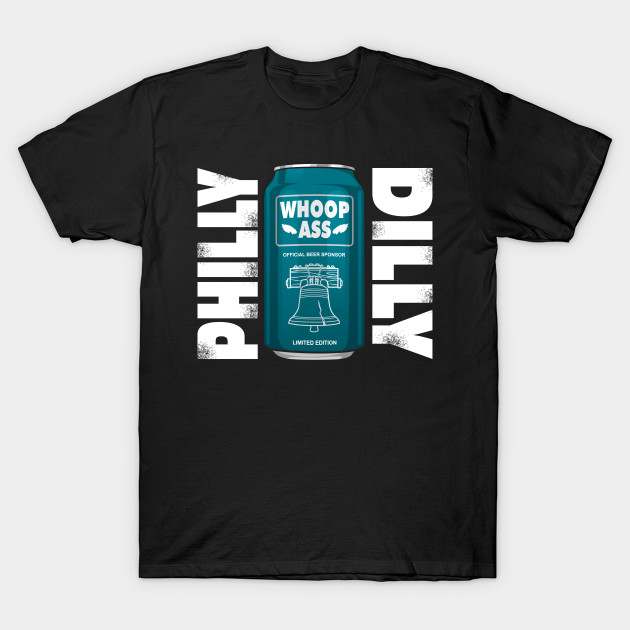 The philly dilly eagles football t shirt teepublic for Eagles football t shirts