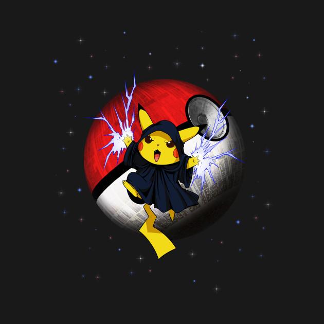 Palpachu Pokemon Pikachu X Star Wars Palpatine Parody Pokemon T Shirt Teepublic