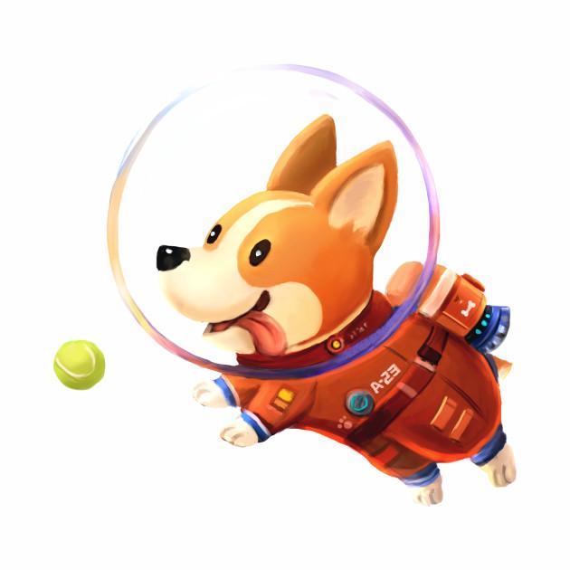 Astronaut Corgi