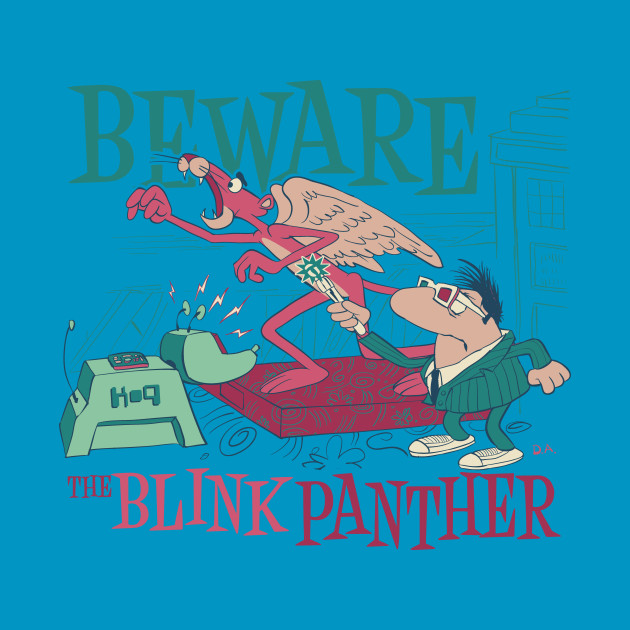 The blink panther k 9 t shirt teepublic