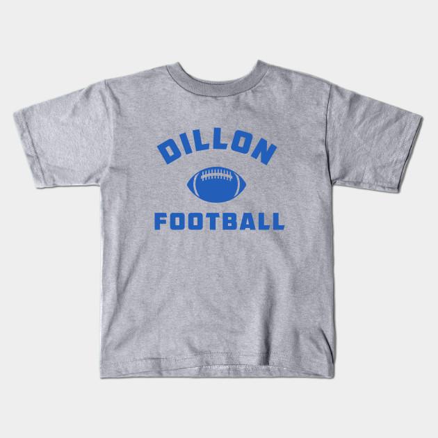 Adult Heather Gray Football Friday Night Lights East Dillon Lions T-shirt Tee