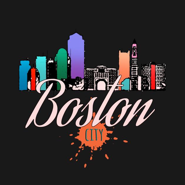 Cityscape of Boston, Massachusetts