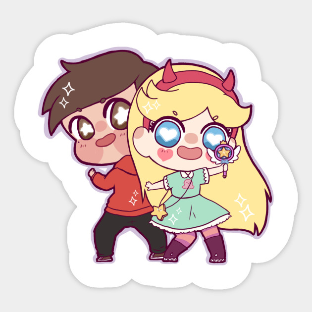 starco star vs the forces of evil sticker teepublic