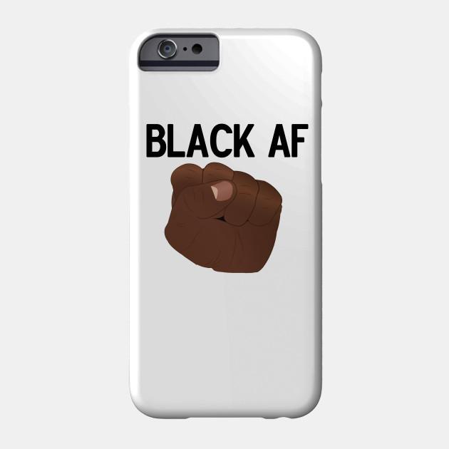 low priced e0c85 fcfb6 Black AF (black lettering)