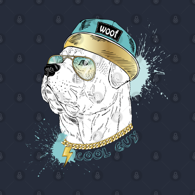 Hip Hop Dog In Hat