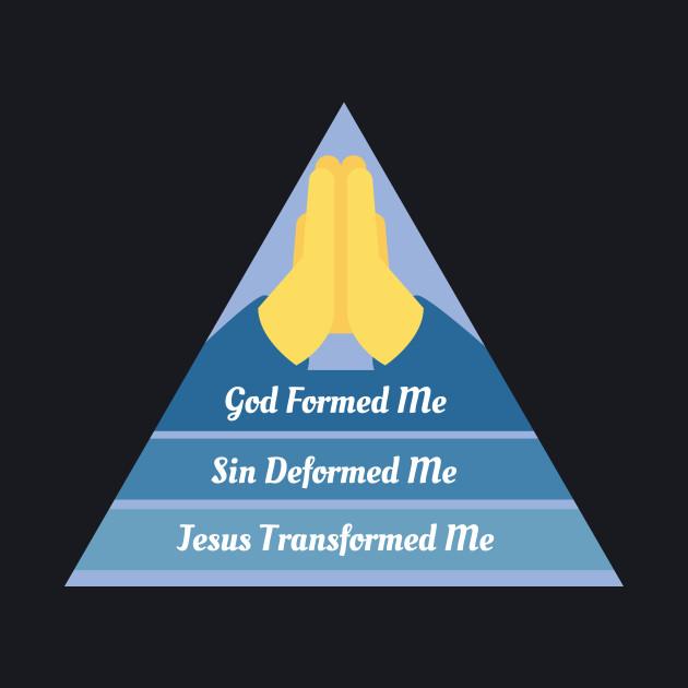 GOD FORMED ME SIN DEFORMED ME JESUS TRANSFORMED ME