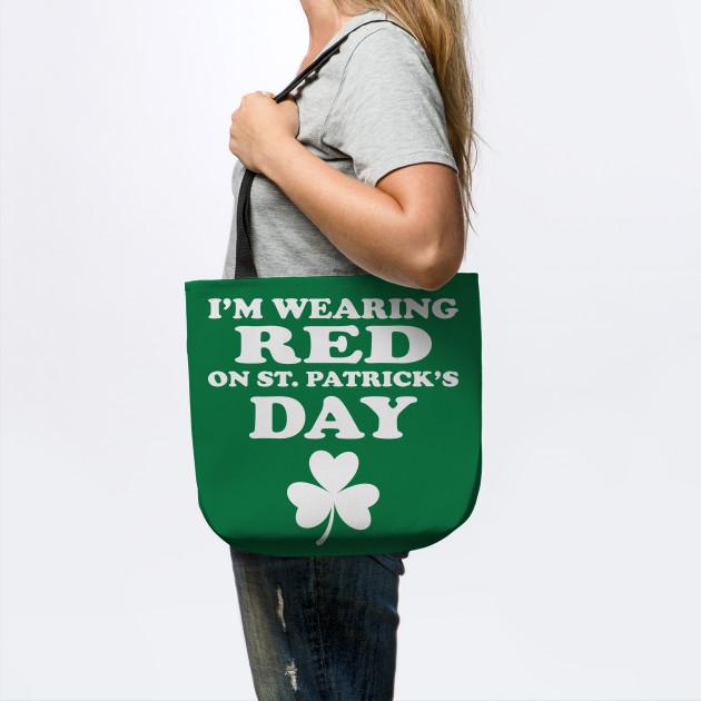 Happy St Patricks Day Irish Leprechaun Womens Fashion Large Tote Ladies Handbag Shoulder Bag