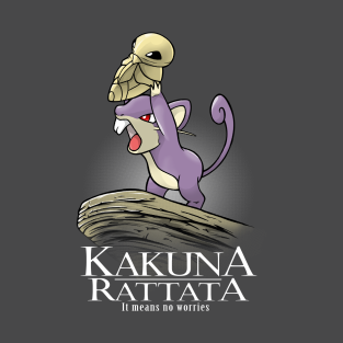 Kakuna Rattata t-shirts
