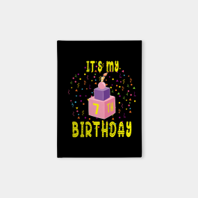 7 Years Old Boy Birthday Gift Notebooks