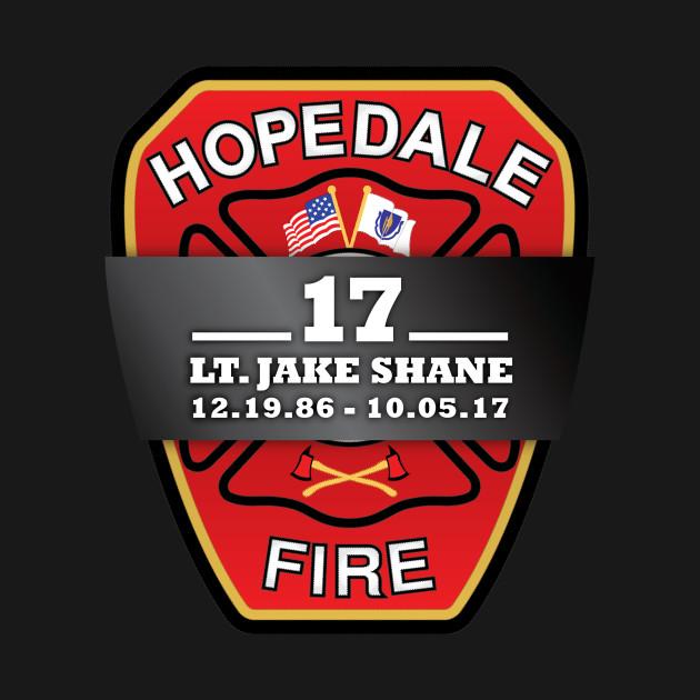 Hopedale Fire Dept Lt Jake Shane Hoodie