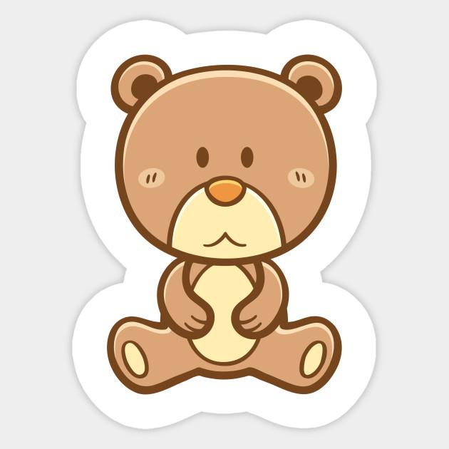 cute teddy bear teddy bear sticker teepublic