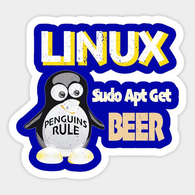 Linux Sudo Apt Get Beer