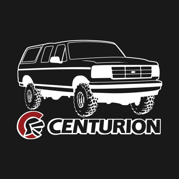 Ford Bronco Centurion w/tires, White Print