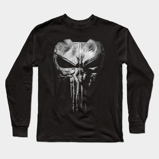 b80f3888eb82 Punisher Vest - The Punisher - Long Sleeve T-Shirt | TeePublic