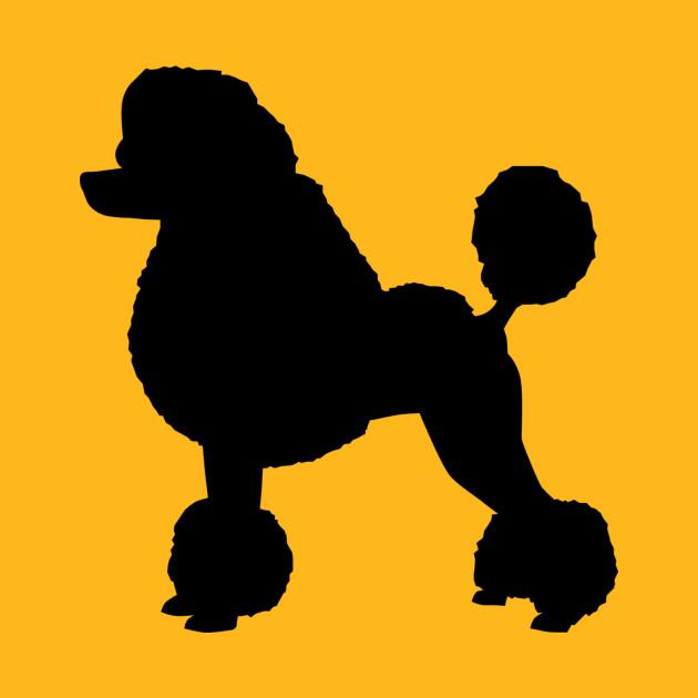 Poodle Silhouette - Poodle - Kids T-Shirt | TeePublic