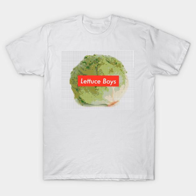 195f50187d1c Lettuce Boys x Supreme V2 - Lettuce - T-Shirt | TeePublic