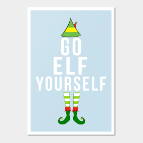 Funny christmas wall art teepublic funny christmas go elf yourself wall art solutioingenieria Choice Image