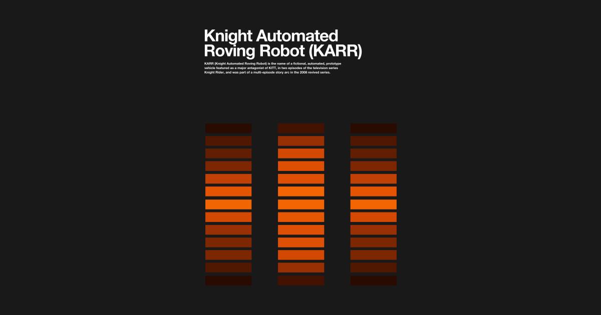 KARR KITT Knight Rider by wearableitems