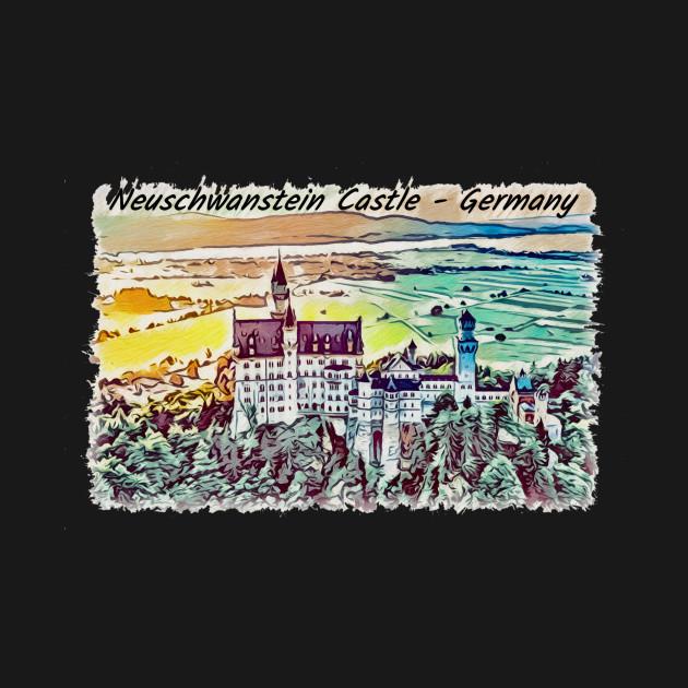 Neuschwanstein Castle Artwork