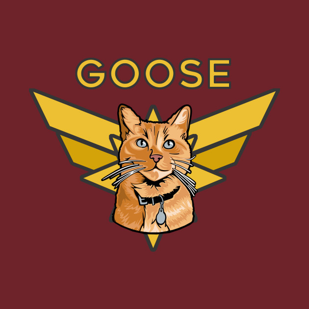 Marvelous Goose the cat
