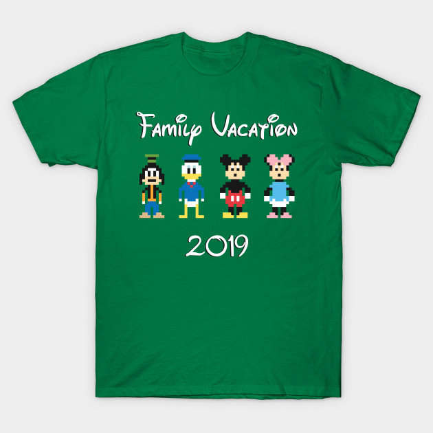 82830ceb543 Family Vacation 2019 - Disney - T-Shirt