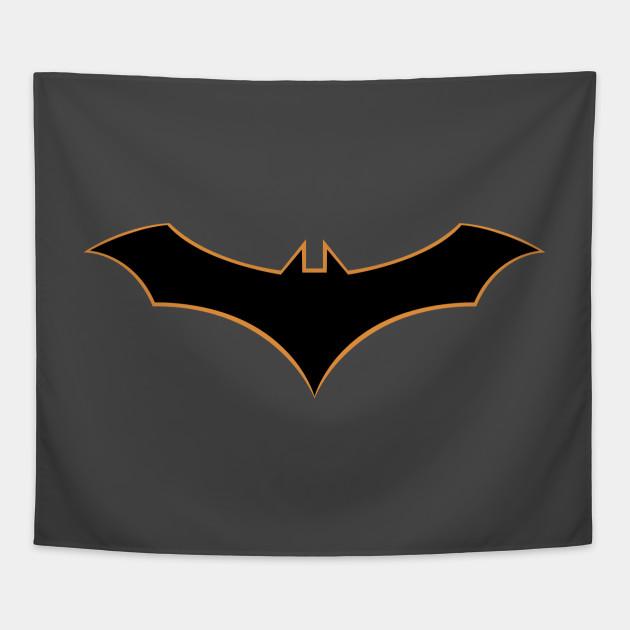 Batman Rebirth Symbol Logo Batman Tapestry Teepublic
