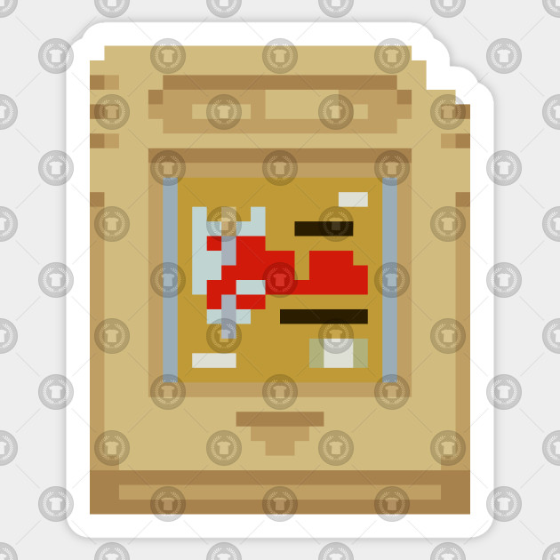 Pixel Art Link S Awakening Gameboy Cartridge