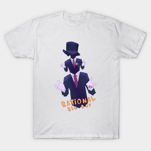 6ea06bdc Rational Big Boy - Rational Big Boy - T-Shirt   TeePublic