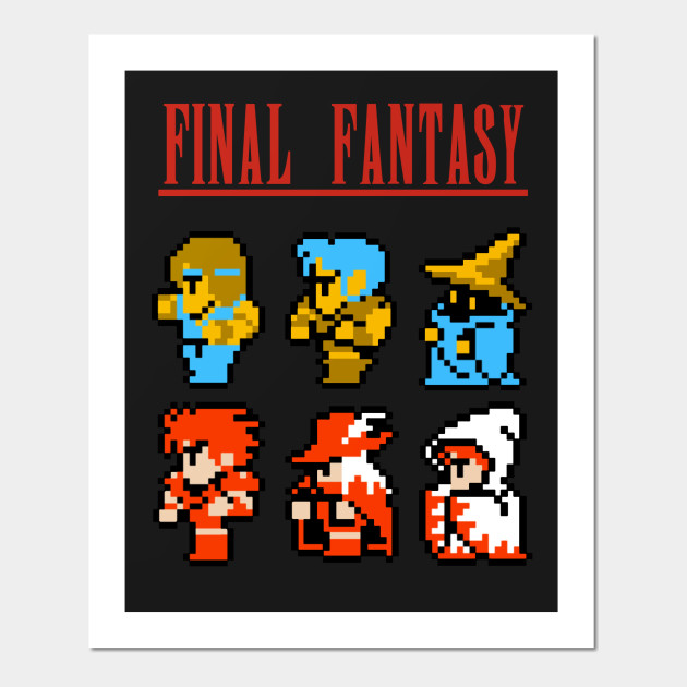 Final Fantasy Nes Icons