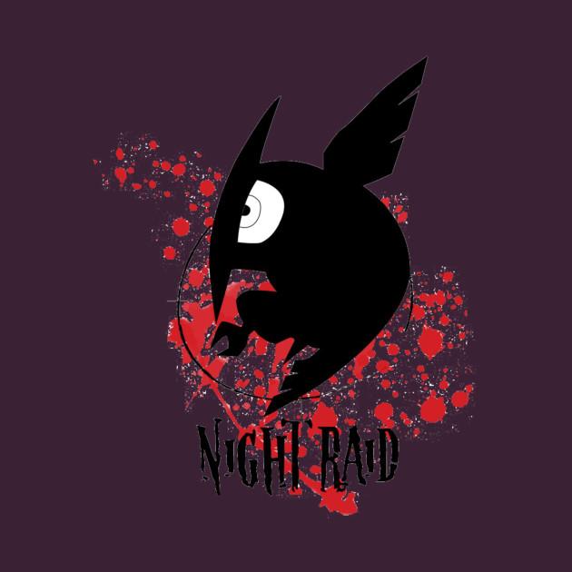 Night raid night raid t shirt teepublic