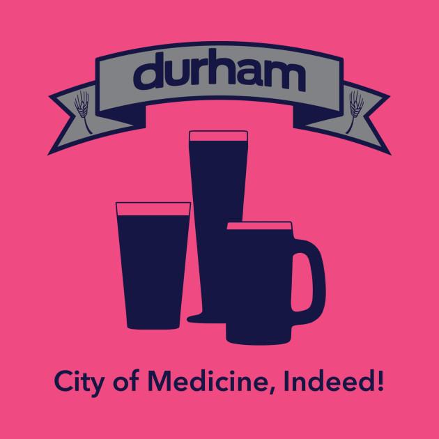 City Of Medicine Durham T Shirt Teepublic