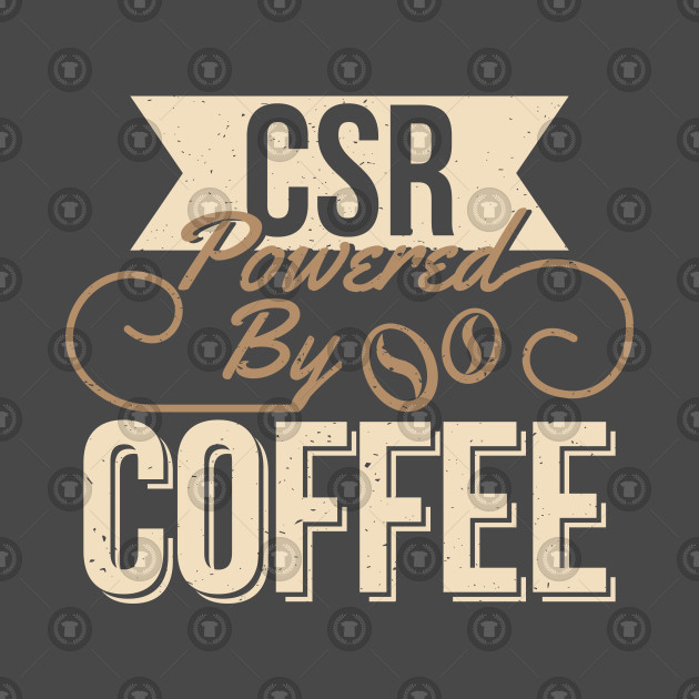 Fun Customer Service Representative CSR Coffee Design