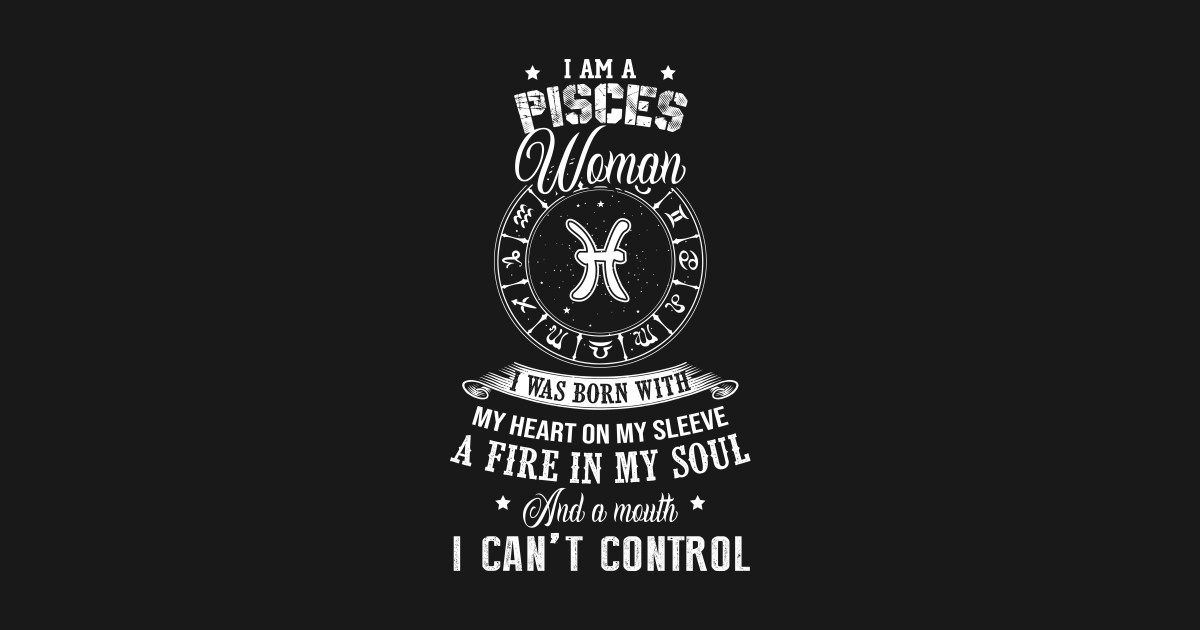 a584118d7 I Am A Pisces Woman T-Shirt - Birtday Vintage Retro March Birthday ...